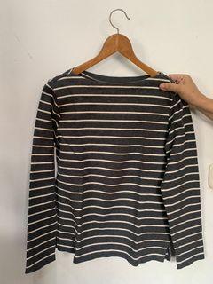 Uniqlo stripe top