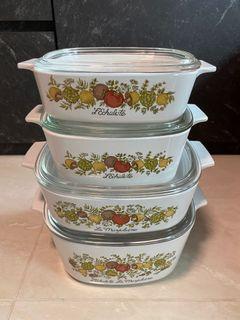 Vintage Spice of Life Corningware Full set (All for $100)