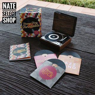 小書系列📖:隨身攜帶的黑膠唱盤小玩意