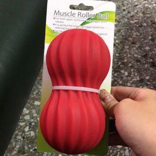 全新 單顆 條紋螺旋 花生球 筋膜球 舒緩 按摩 腰部 腿部 復健 握力球 足底按摩球 顆粒按摩球 腳底筋膜球 末梢刺激球 瘦腿 美腿