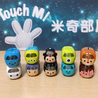 《日本直送》 Disney Tomy Tomica $40 🚗🚗 Tsum Tsum toy car 叠叠車 合金車 車仔 Minnie Stitch Aliens Mickey Buzz Chip Dale Baymax Mike 大眼仔 巴斯光年 米奇 米妮 Sully Monster
