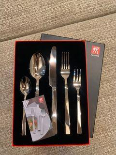 德國 雙人牌 Dn-505 餐具組 湯匙 叉子 刀子 五件組