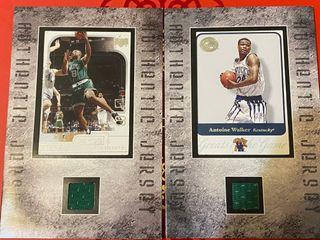極稀有 NBA爛仗王 Antoine WALKER  Celtics & Kentucky 球員卡