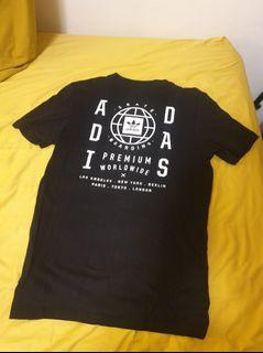 Adidas 黑色t-shirt t恤#防疫