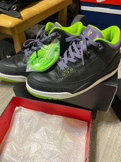 Air Jordan 3 小丑 us9.5
