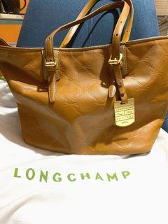 Authentic Longchamp Cuir Tote