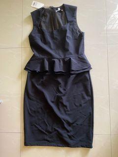 BNWT Lovebonito peplum dress