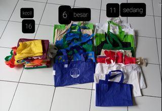 Borong Tas Belanja Besar, Sedang & Kecil