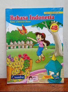 BUKU BAHASA INDONESIA SD KLS 4B QUADRA