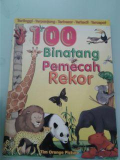 Buku cerita bahasa indonesia binatang
