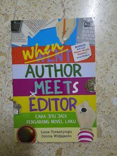 [Buku] When Author Meets Editor