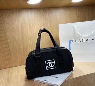 Chanel bag with long strap