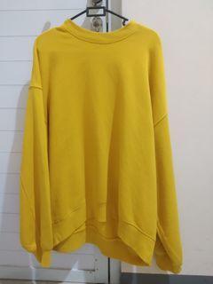 Crewneck sweater oversize