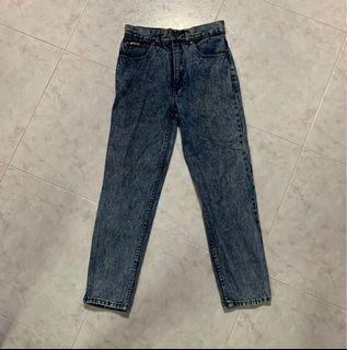 Acid Wash Denim Jean