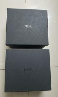 正品名牌Dior盒子 Authentic Dior Gift Box