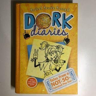 Dork Diaries Hard Cover - 3 - Not So Talented Pop Star