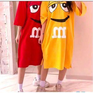 dress jumbo m&m