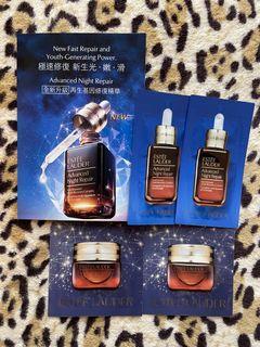 (包郵)全新Estee Lauder advanced night repair系列 4 packs