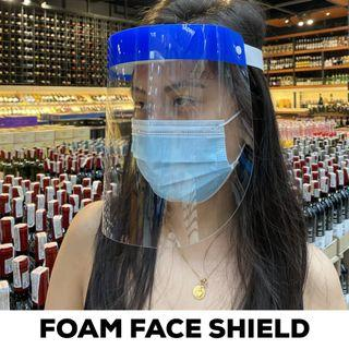 FOAM FACE SHIELD THIN 4000 PCS (take all)