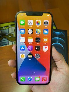 iphone 12pro max128G 藍