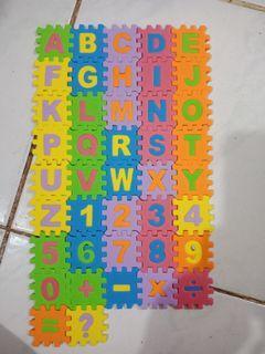 Mainan Edukasi puzzle abc