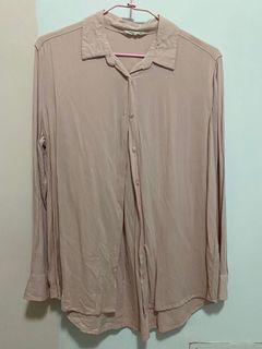 NET粉色襯衫
