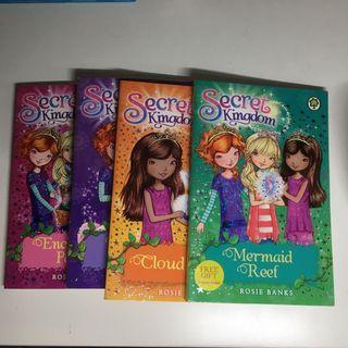 Novel Anak - Secret Kingdom Paket Seri 1-4
