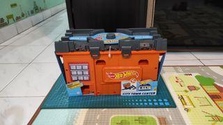 Playset Hot Wheels City Town Center Ori Mattel ELC