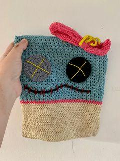 Pouch Scrump Handmade Knit