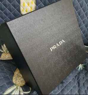 正品prada手袋盒 Authentic Prada Handbag Box