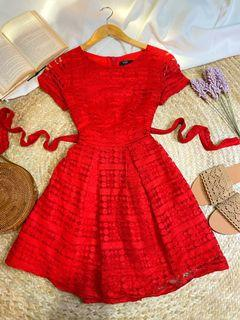 Red Dress High quality material