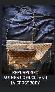 Reworked crossbody bag
