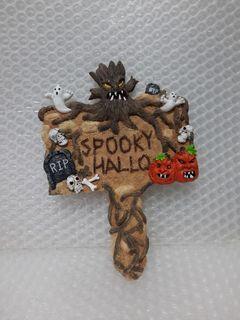 《SPOOKY HALLO》裝飾板