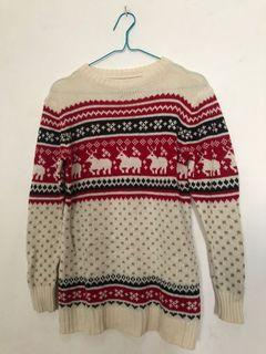 Sweater Rajut Lucu