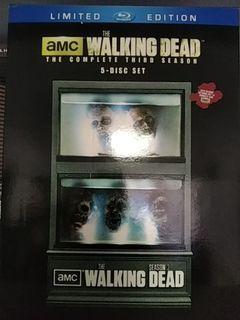 The Walking Dead Season 3 Limited Edition Bluray