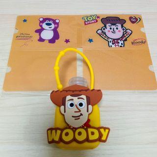 Toy Story Woody 反斗奇兵 胡迪 酒精搓手液連口罩夾套裝