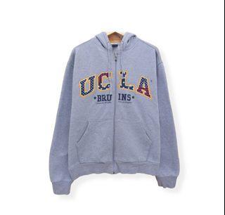 UCLA BRUINS zip HOODIE 897