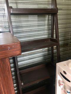4-Layer Ladder Shelves (GOOD AS NEW!)