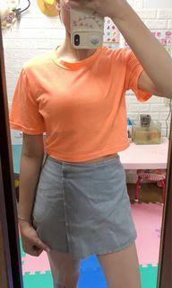 9tall 全新短板上衣送二手小瑕疵牛仔褲裙