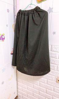 黑色圍裙 良好 可當防曬騎車裙