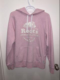 Baby pink roots hoodie