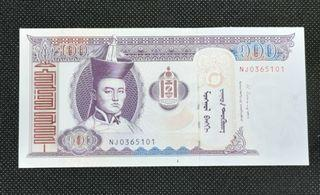 Banknote Mongolia 100 Tugrik