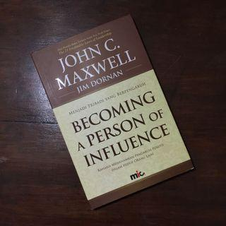 Becoming a Person of Influence by John C Maxwell