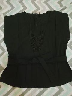 Blus black