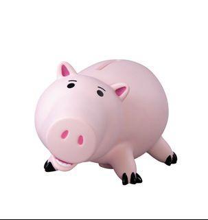 CACO 火腿豬大型存錢筒+原包裝盒(2000含運需先匯款)