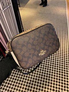 Coach double zip crossbody camera bag Slingbag C1767