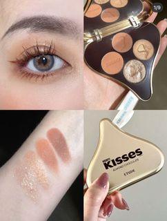 Etude House Kisses 02 杏仁巧克力 水滴巧克力眼影盤