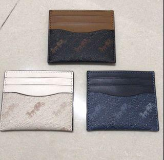 FREE FOR TWO Coach Card Holder C4287