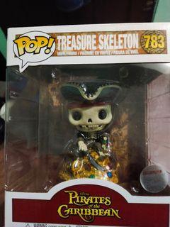"Funko 6"" Treasure Skeleton Disney Exclusive"