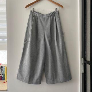 Giordano ladies 質感西裝寬褲